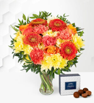 Australasia Sunset - Flower Delivery - Flowers By Post - Flowers - Next Day Flowers - Flowers UK