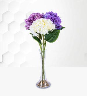Hydrangea Trio Silk Bouquet